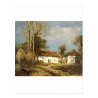 Cachoud Francois Charles Claire De Lune Savoie Postcard