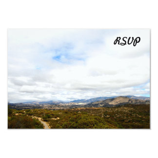 Cachuma Mountains 3.5x5 Paper Invitation Card