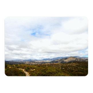 Cachuma Mountains 5x7 Paper Invitation Card