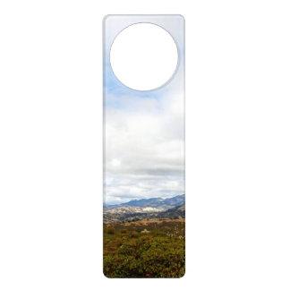 Cachuma Mountains Door Hanger