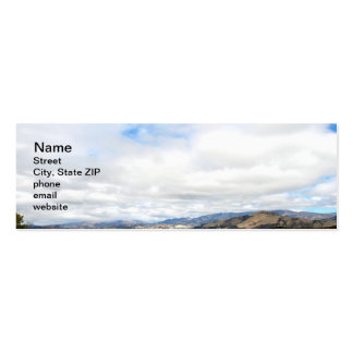 Cachuma Mountains Double-Sided Mini Business Cards (Pack Of 20)