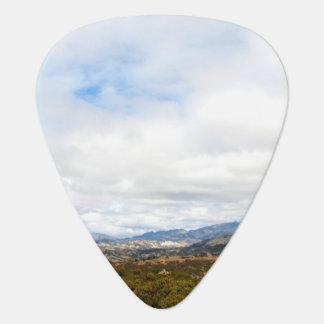 Cachuma Mountains Guitar Pick
