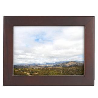 Cachuma Mountains Memory Box