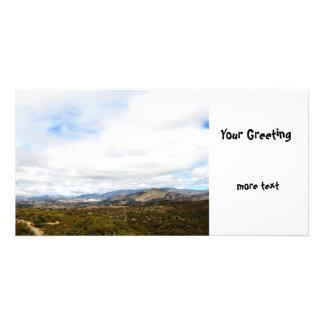 Cachuma Mountains Photo Card Template