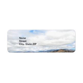 Cachuma Mountains Return Address Label