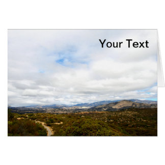 Cachuma Mountains Stationery Note Card