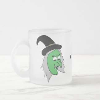 Cackling Witch Frosted Mug