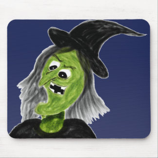 Cackling Witch Mouse Pad