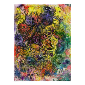 Cacophony of Color Poster
