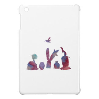 Cacti art iPad mini case