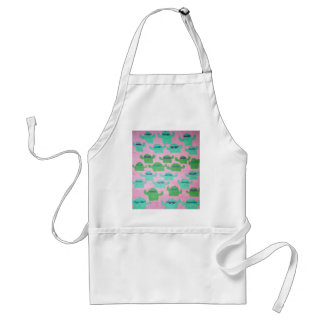 Cacti in Sunglasses Pattern Adult Apron