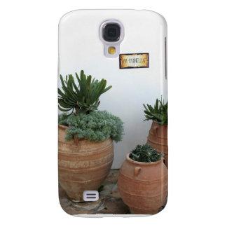 Cacti in Terracotta Pots Galaxy S4 Case