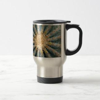 Cacti Macro -- Southwestern pastel style Travel Mug