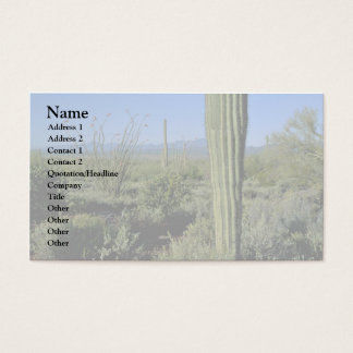 Cacti Stands Business Card