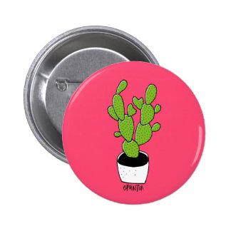 Cactus 02 pin redondo de 2 pulgadas