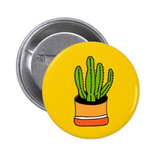 Cactus 04 pin redondo de 2 pulgadas