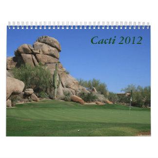 Cactus 2012 calendario
