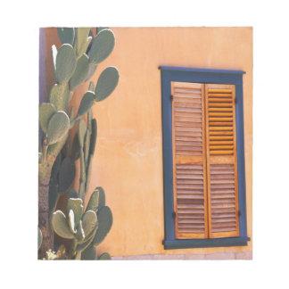 Cactus al sudoeste (dejecta de la Opuntia) y Bloc De Notas