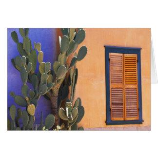 Cactus al sudoeste (dejecta de la Opuntia) y Tarjeta De Felicitación