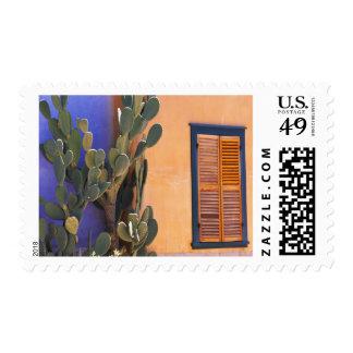 Cactus al sudoeste (dejecta de la Opuntia) y Timbre Postal