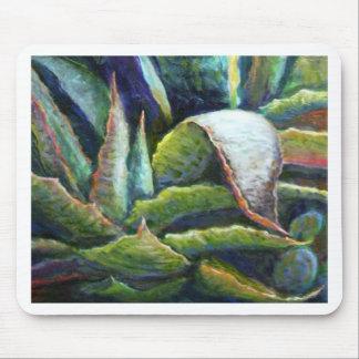 Cactus americano del agavo del desierto por Sharle Tapetes De Ratón