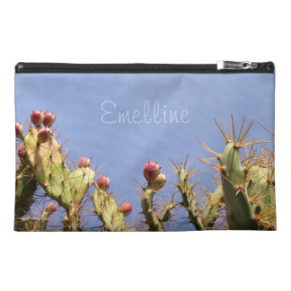 Cactus and Blue Sky Photo any Text Travel Accessory Bag