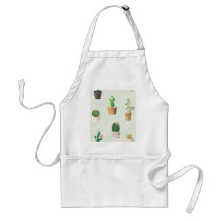 Cactus and Plants Adult Apron
