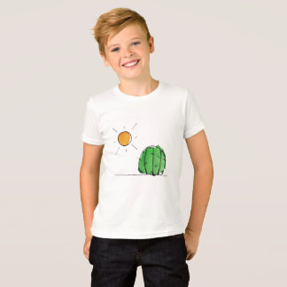 Cactus and Sun Watercolor T-Shirt