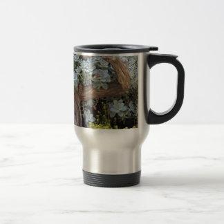Cactus arrangement travel mug