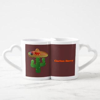 Cactus Berry Drink Recipe Coffee Mug Set