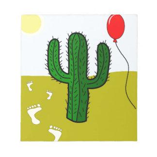 Cactus Bloc De Notas