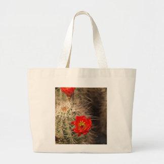 Cactus Bloom Canvas Bag