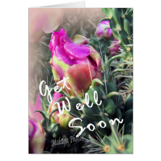 Cactus Bloom GetWell Card