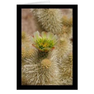 Cactus Bloom Greeting Card