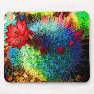 Cactus brillante tapetes de raton