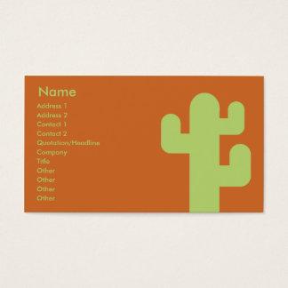 Cactus - Business Business Card