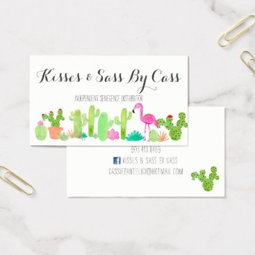 Professional Business Cactus Business Card