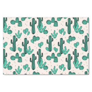 Cactus / Cacti Green Cream Tropic / Andrea Lauren Tissue Paper