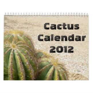 Cactus Calendar