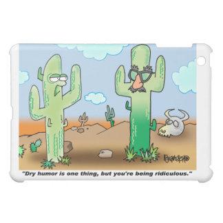 Cactus Cartoon   Dry Humor iPad Mini Cases