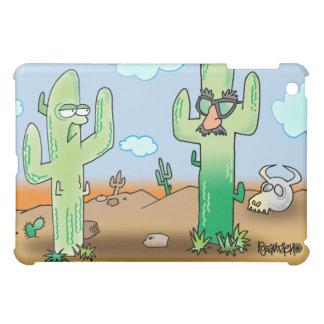 Cactus Cartoon   Dry Humor  iPad Mini Cover