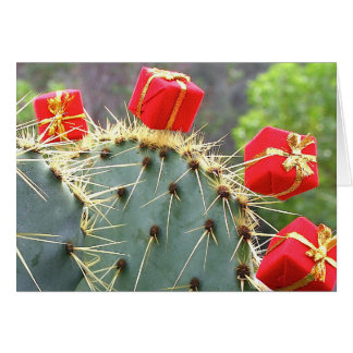 Cactus Christmas card by Debra Lee Baldwin