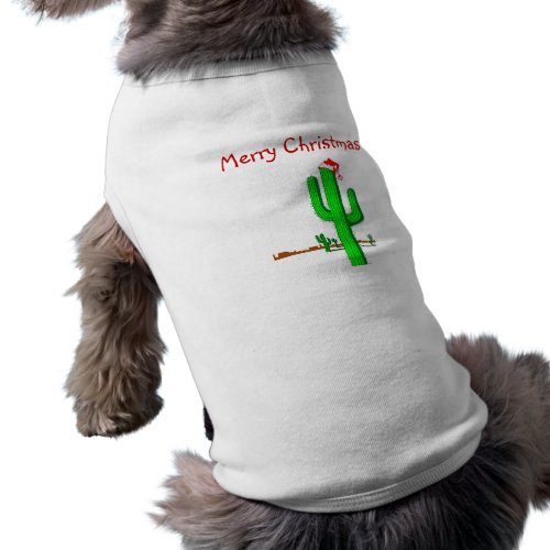 Cactus Christmas Tree _ Doggie Tank Top