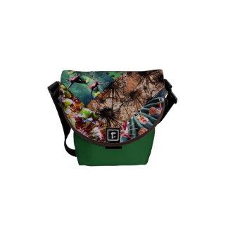Cactus Collage Messenger Bag