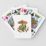 Cactus con pimientas del baile cartas de juego