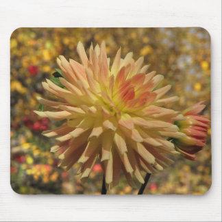 Cactus Dahlia Mouse Pad