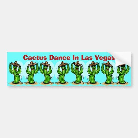 Cactus Dance ~ Saguaros Sombreros Bumper Stickers