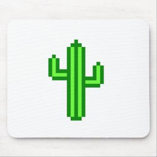 cactus de 8 bits del Saguaro Tapetes De Raton