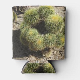 Cactus de barril de oro enfriador de latas
