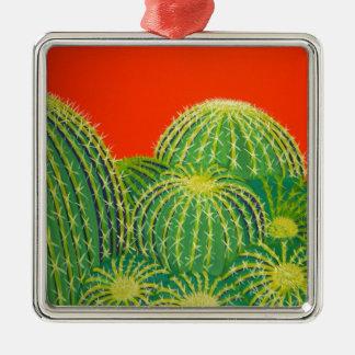 Cactus de barril ornamento de navidad